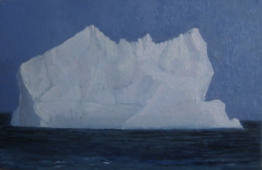 (2012) Copia Iceberg Edwin Church 35 x 22