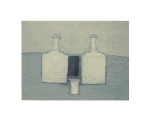 Naturaleza muerta, 1959. Óleo s/tela 25 x 35 cm  Módena, Colección privada