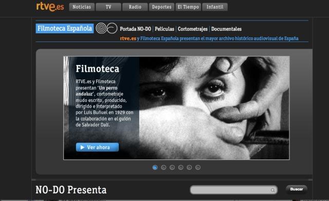 web rtve-filmoteca