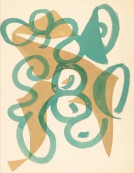Aguada y lápiz sobre papel 328 x 254 mm
