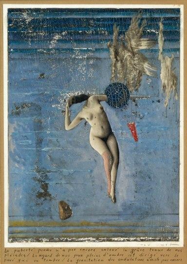 Pleiades. Collage 25 x 18 cm. Colección Privada