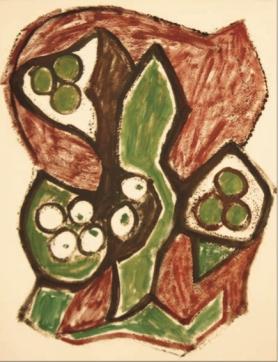 Lápices grasos y aguada sobre papel 330 x 253 mm