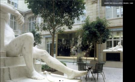 Museo de Bellas Artes, Rouen, 1992