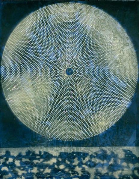Nacimiento de una galaxia. Óleo s/lienzo. 1969. Fundación Beyeler. Foto: Peter Schibli
