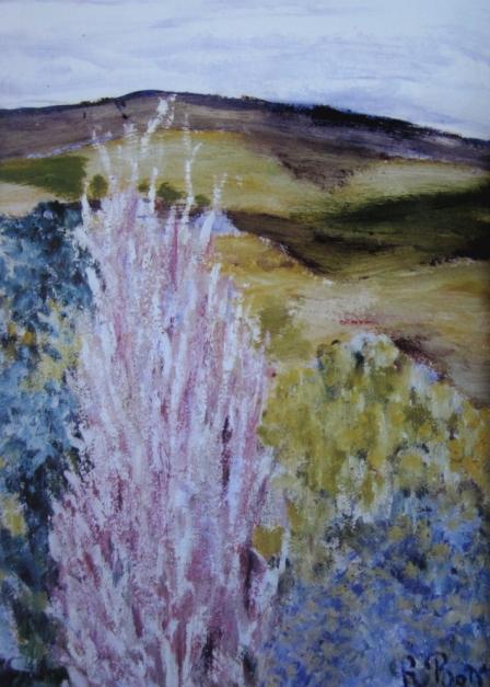 De la Casa de Campo (Madrid) 1984. Óleo s/tablex, 33 x 25 cm.