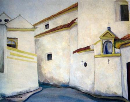 Arquitectura cordobesa. 1960. Óleo s/ lienzo, 81 x 100 cm. Diputación de Córdoba