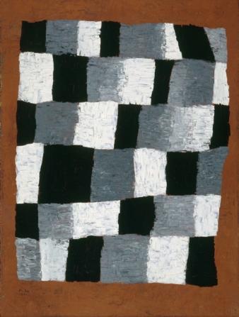 En ritmo, 1930. Óleo s/tela de yute. 69,6 x 50,5 cm. Centro Georges Pompidou, Paris.