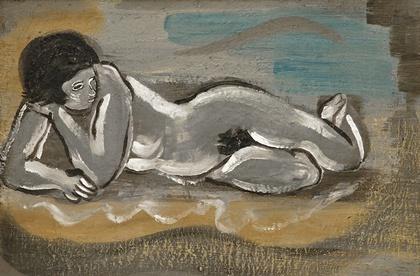 Desnudo 1923 Óleo s/cartón 35 x 53,5 cm