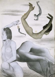 Ausencias. 1935. Collage, 36 x 26 cm. ©Hermanos del artista