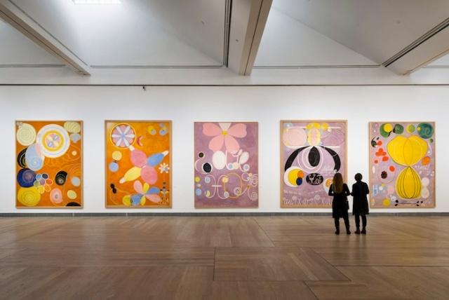 Imagen de la instalación en el Moderna Museet foto © 2013 Åsa Lundén/ Moderna Museet)