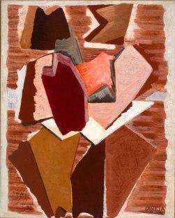 Composición, 1927. Óleo/lienzo 92x73