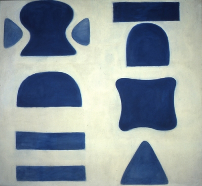 Berlin Blues 1, 1965, Óleo s/lienzo, 160 x 173cm  Private Collection © Estate of William Scott 2011