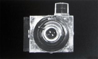 La cámara  Photo Esphere con la que Ortiz-Echagüe logró ejemplares únicos.