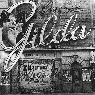 """El 22 de diciembre de 1947, se estrenó en el Palacio """"Gilda"""", protagonizada por Rita Hayworth."""