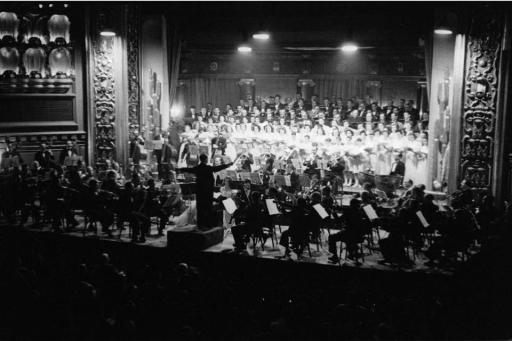 Concierto en el Palacio de la Música (años 30)