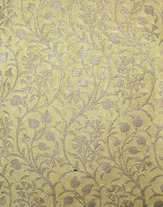 """""""Granada"""" en amarillo y plata. Diseño actual de la marca Fortuny/Venezia"""