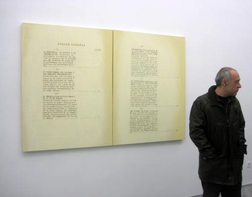 Joaquín Segura. Estado de excepción. Galería Espacio Mínimo