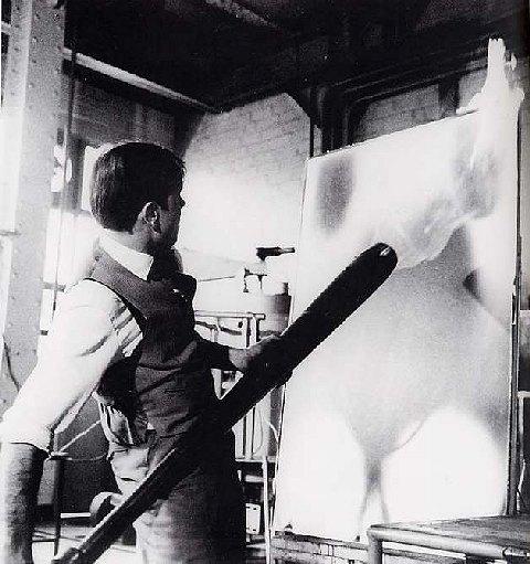 Pintura de fuego 1961