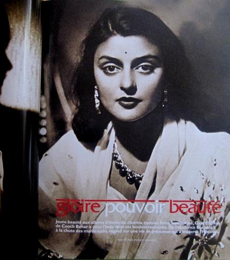 Gayatri Devi (1919-2009), tercera majarani de Jaipur desde 1940 a 1970