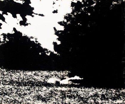 Don McCullin: Thomas' blow-ups aus dem Park, 1966. Cortesía Philippe Garner