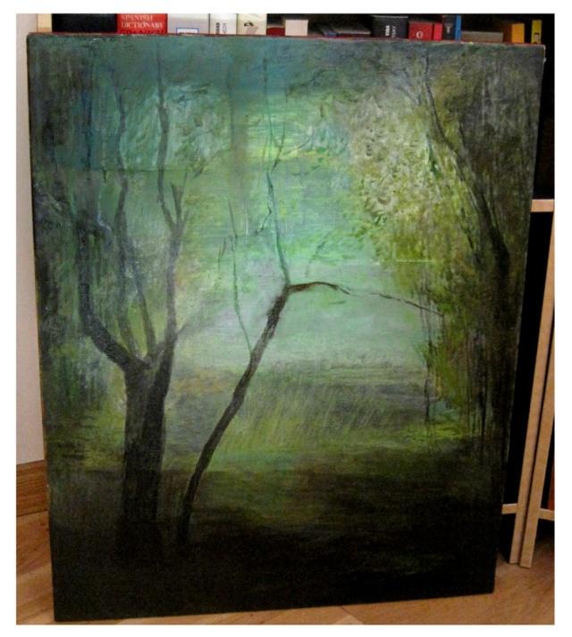 Óleo s/lienzo 65 x 81 cm