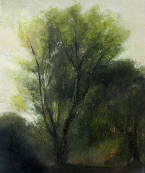 Cuaderno de campo 8. Óleo s/lienzo 38 x 46 cm