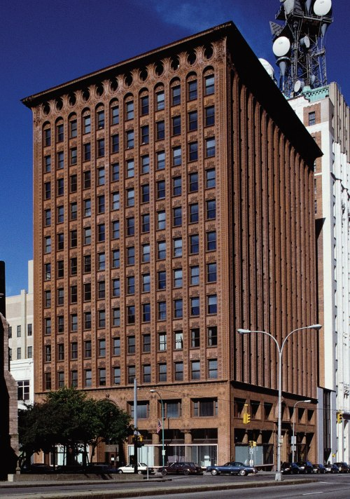 Prudential Building (formerly Guaranty Building) 28 Church Street Buffalo, New York (888) 228-3369 Architect: Louis Henry Sullivan; Year Built: 1896